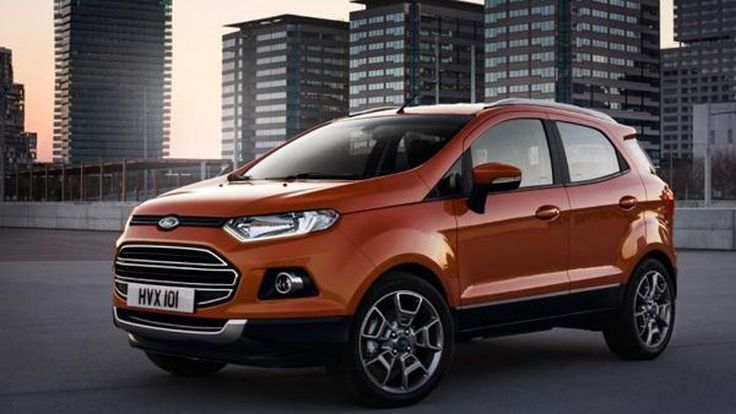 ยลโฉม Ford EcoSport สเปกยุโรป ไฮเทคด้วยเทคโนโลยี SYNC AppLink