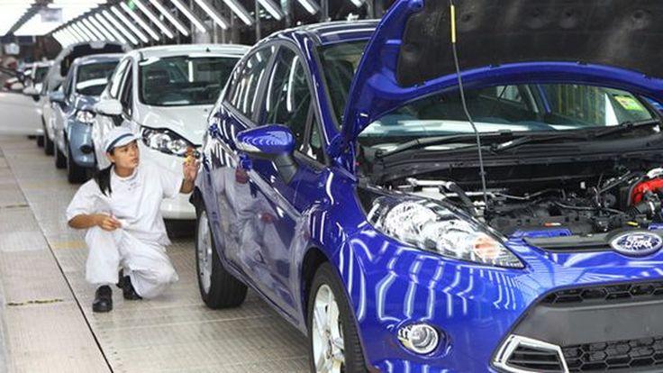 Ford เตรียมย้ายฐานการผลิต Fiesta จากเม็กซิโก-อินเดียมาที่ประเทศไทย