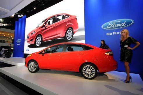 Ford Fiesta 2014 เฟียสต้าซีดาน รุ่นไมเนอร์เชนจ์ เปิดตัวแล้วที่บราซิล