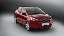 Ford เปิดตัว Figo รถซีดานต้นแบบขนาดเล็กดีไซน์น่ารัก