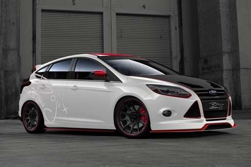 Ford จับมือหลายสำนักแต่ง โมดิฟายด์ Focus และ Fiesta ไปอวดที่ SEMA Show