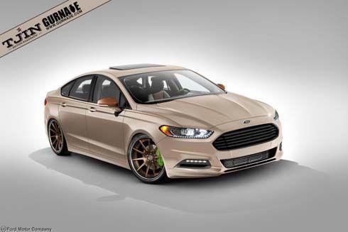 Ford ส่ง Fusion มิดไซส์ซีดาน 4 เวอร์ชั่นพิเศษโชว์ตัวที่ SEMA Show
