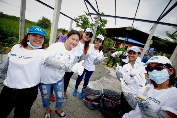 ฟอร์ด ประเทศไทยจัดกิจกรรม รวมพลังอาสาพัฒนาชุมชนในจังหวัดระยองตลอดเดือนกันยายน