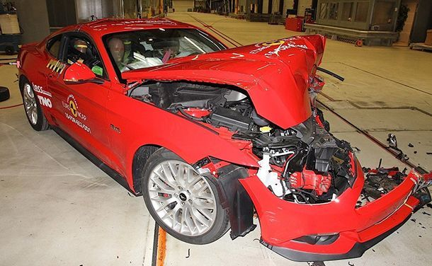 กร่อย! Ford Mustang ได้แค่ 2 ดาวทดสอบการชนในยุโรป