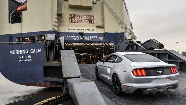 Ford เริ่มส่งออก Mustang สู่ตลาดเอเชียแล้ว เปิดกลยุทธ์โกลเบิลโมเดลอย่างเป็นทางการ
