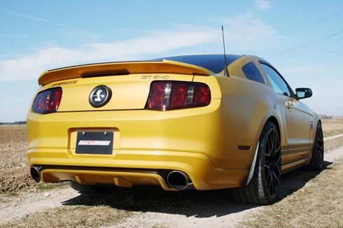 Ford Mustang Shelby GT500 ในชุดแต่ง GT640 Golden Snake จาก GeigerCars