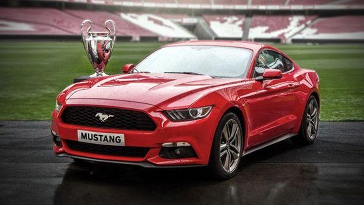 Ford Mustang บุกตลาดยุโรป เปิดให้จองครั้งแรกในวันรอบชิงยูฟ่า แชมเปี้ยนส์ ลีก