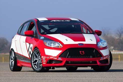 Ford Race Car Concept รถแข่งตัวใหม่ความหวังของ Ford ใช้พื้นฐานจาก Focus