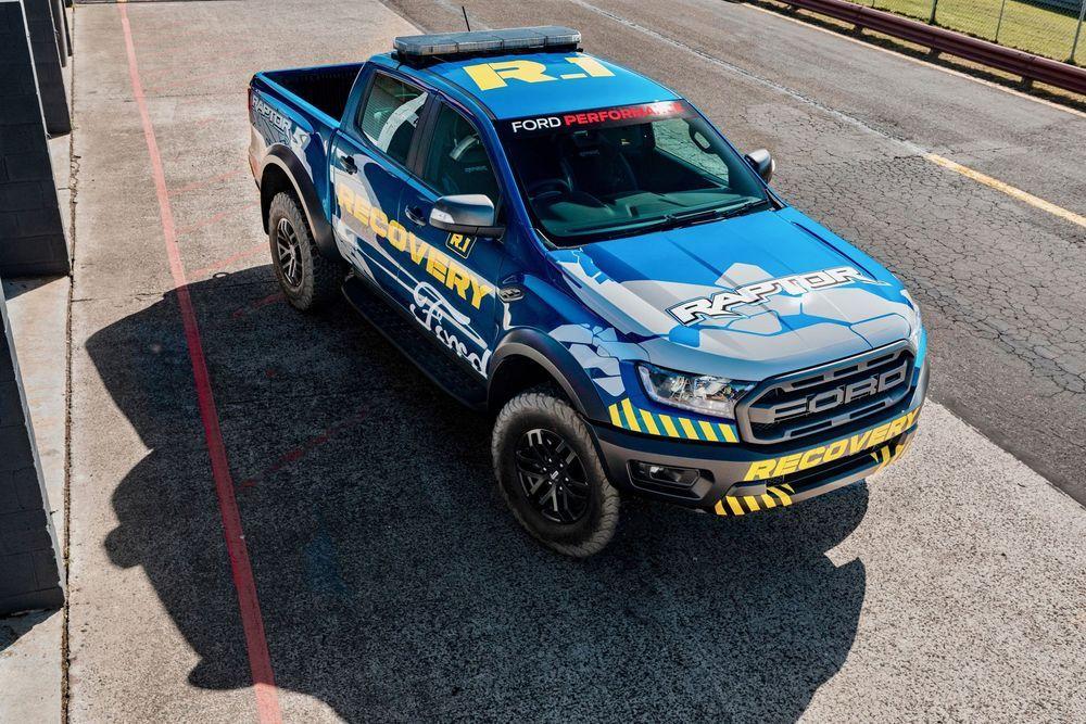 Ford Ranger Raptor กลายเป็นรถกู้ภัยในสนามแข่ง Supercars Champinship อย่างเป็นทางการเรียบร้อยแล้ว