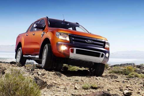 ใหม่ Ford Ranger Wildtrak รุ่นปี 2012 กระบะปิกอัพทรงแกร่งเวอร์ชั่นยุโรป