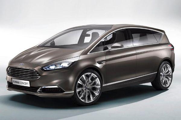 Ford S-MAX Concept ว่าทีรถเอ็มพีวีเจนเนอเรชั่นใหม่