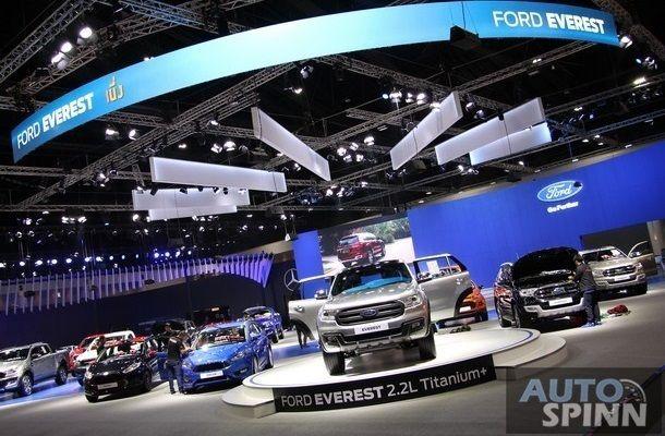 """[TIME2016]Ford ปลื้มยอดขาย """"ฟอร์ด เรนเจอร์""""พุ่ง 36% ดันภาพรวม 10 เดือนโต 22%"""