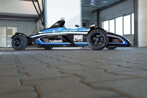 Formula Ford โชว์พลังเครื่อง EcoBoost 1.0 ลิตร เร็วกว่า Ferrari Enzo