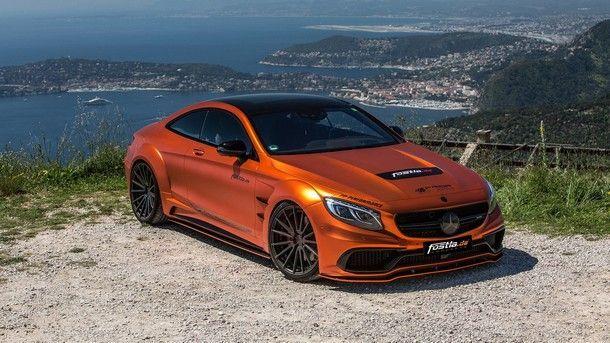 อย่างงาม !! Mercedes-AMG S63 Coupe สีส้มตัวจี๊ดจากสำนัก Fostla