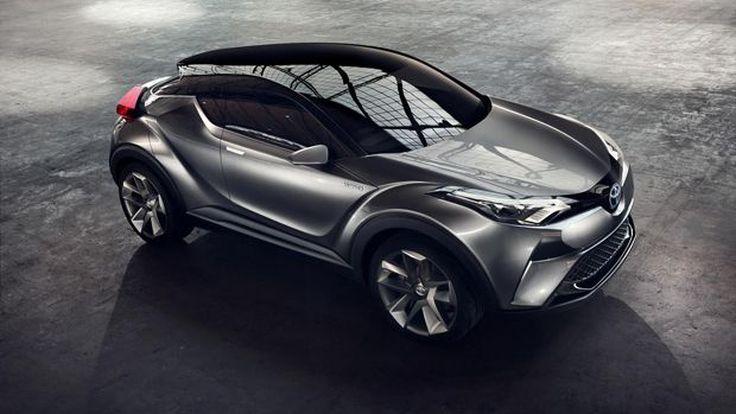 [แฟรงก์เฟิร์ต] โตโยต้า ซี-เอชอาร์ รถต้นแบบจ่อผลิตออกขายจริงเต็มที