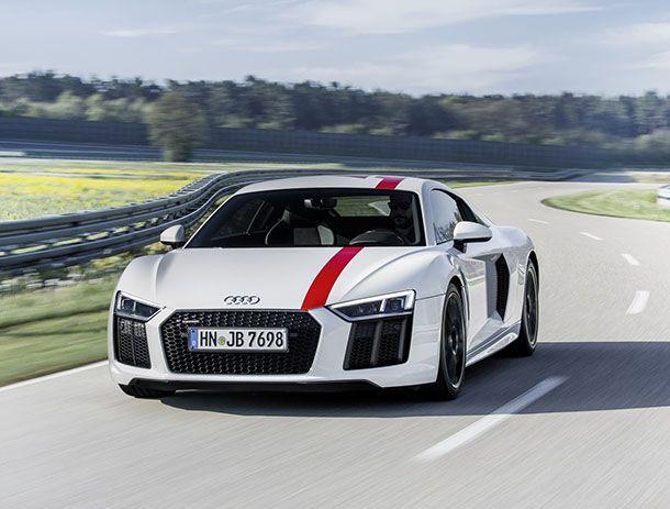 [Frankfurt 2017] Audi R8 V10 RWS ซูเปอร์คาร์ตะกุยสองล้อหลัง