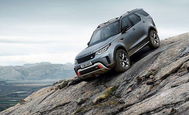 [Frankfurt 2017] Land Rover Discovery SVX อัดแน่นขุมพลังวี8 พลัง 525 แรงม้า