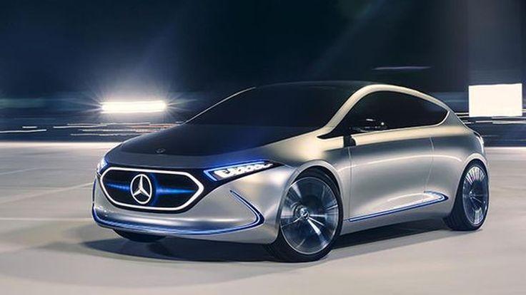 [Frankfurt 2017] Mercedes-Benz EQ A รถพลังงานไฟฟ้าต้นแบบแห่งอนาคต