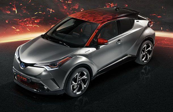 [Frankfurt 2017] Toyota C-HR Hy-Power Concept รถต้นแบบอัพเกรดความเท่