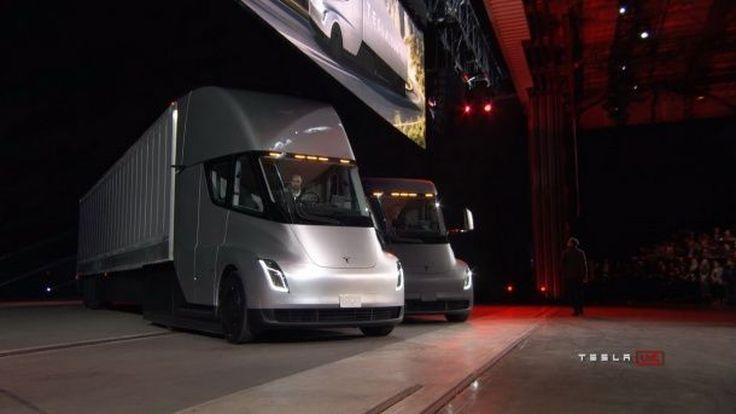 ไม่น้อยหน้า Tesla Semi รถบรรทุกไฟฟ้ารุ่นแรก ชาร์จไฟ 1 ครั้ง วิ่งได้ไกล 800 กม. และบรรทุกได้มากถึง 3.6 หมื่นกิโลกรัม