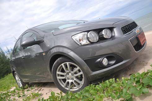 ขับทดสอบ Chevrolet Sonic 1.4 LTZ 4Dr sedan กรุงเทพฯ-หัวหิน กว่า 500 กิโลเมตร
