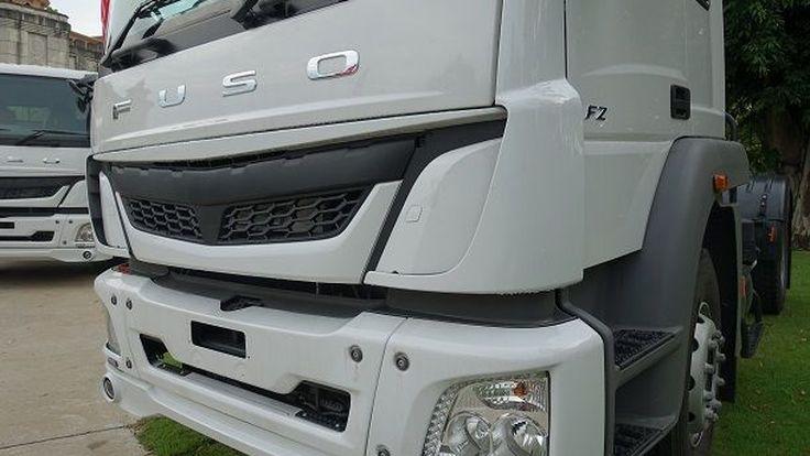 FUSO ส่งรถบรรทุกรุ่นใหม่ FJ2528C บุกวงการก่อสร้างไทย