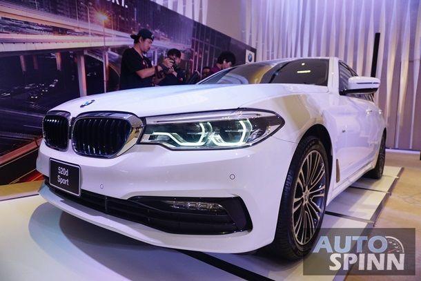 [Gallery] ยลโฉม New BMW 520d Sport เวอร์ชั่นประกอบไทยพร้อมชุดแต่ง Sport Line รอบคัน