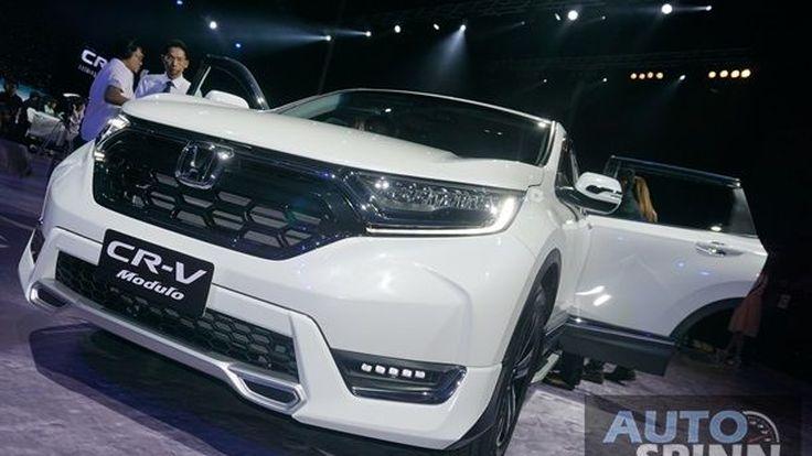 [Gallery] 2017 Honda CR-V เอนกประสงค์ติดเทอร์โบออพชั่นของคนรักครอบครัว
