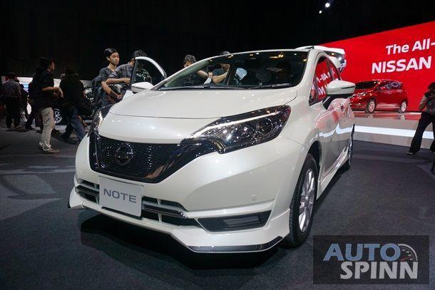 [Gallery] 2017 Nissan Note อีโคคาร์น้องใหม่หน้าตาทันสมัยภายในกว้างขวาง