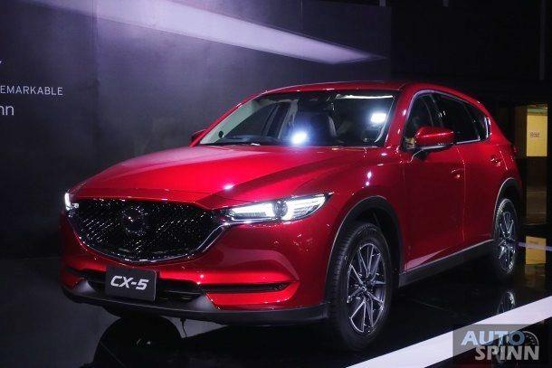 รวมภาพคันจริงเน้นๆ ทุกมุม All-New Mazda CX-5 สวยงามลงตัวขนาดไหน ไปชมกัน !!