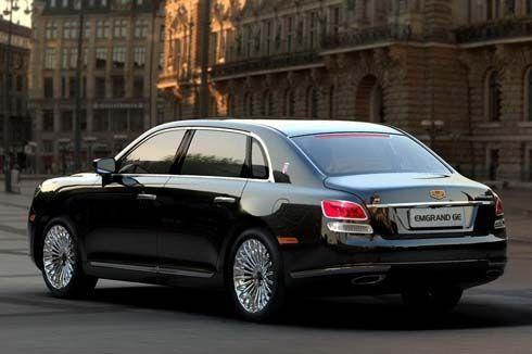 Geely GE Limousine ใหม่ ปี 2011 Rolls Royce ตะวันออก รอเปิดตัวที่ Beijing Auto Show