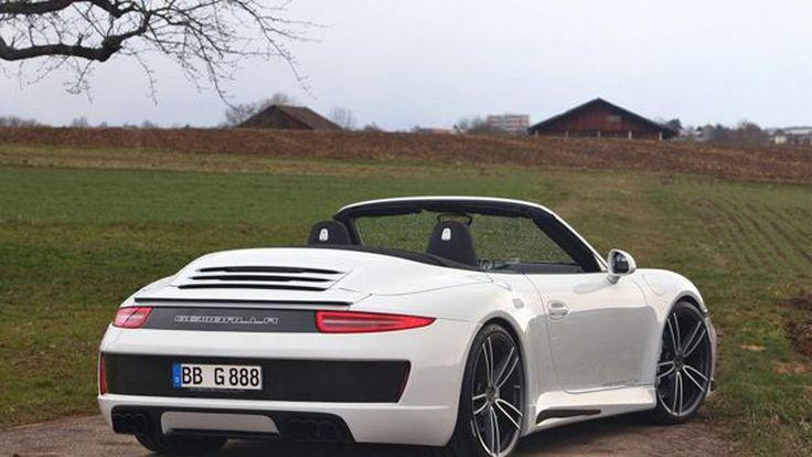 เนี้ยบทั้งคัน Porsche 911 Carrera S Convertible แต่งโดย Gemballa