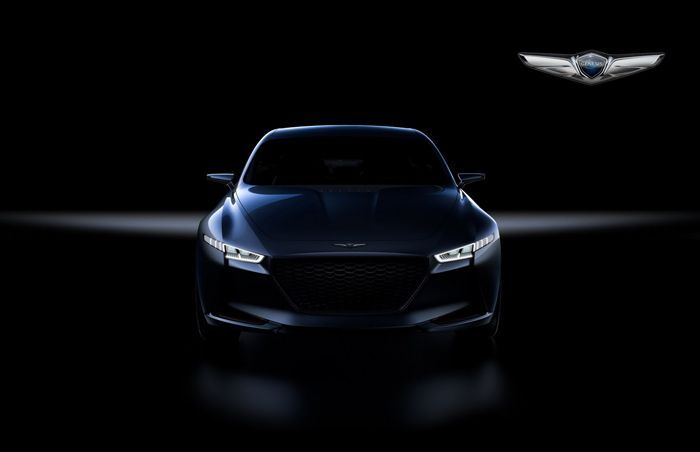 Genesis เตรียมท้าชน BMW 3-Series ด้วยรถต้นแบบ New York Concept