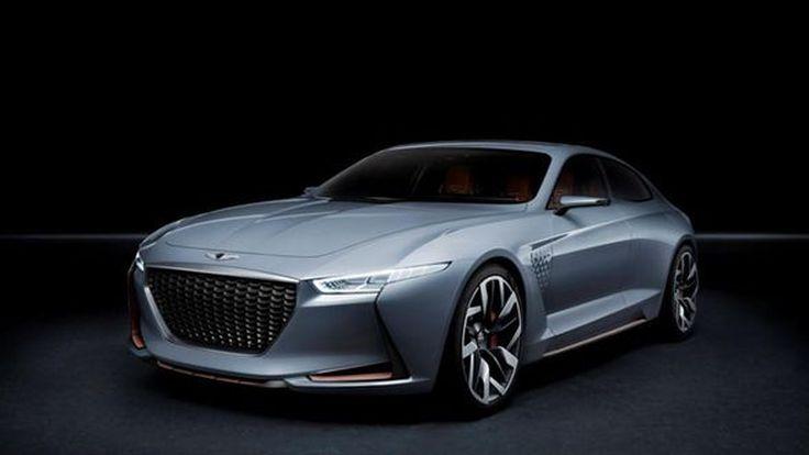 Genesis New York Concept ปูทางสู่รถซีดานท้าชน BMW Series 3