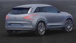 [Geneva 2017] Hyundai FE Fuel Cell รถต้นแบบเอสยูวีพลังไฮโดรเจนรุ่นใหม่