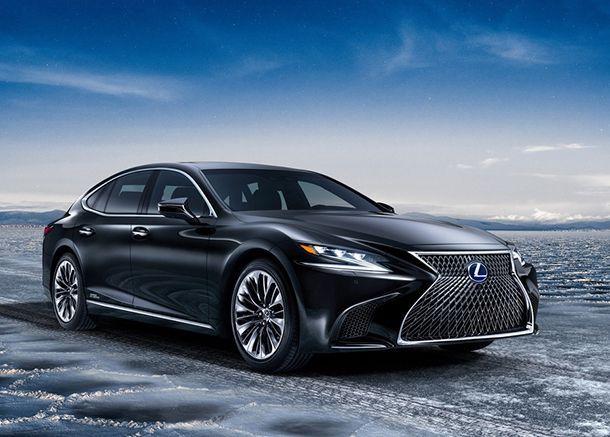 [Geneva 2017] Lexus LS 500h ซีดานหรูพลังลูกผสม