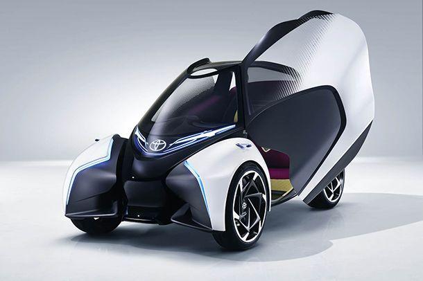 [Geneva 2017] Toyota i-TRIL Concept รถต้นแบบโชว์การเดินทางแห่งอนาคต