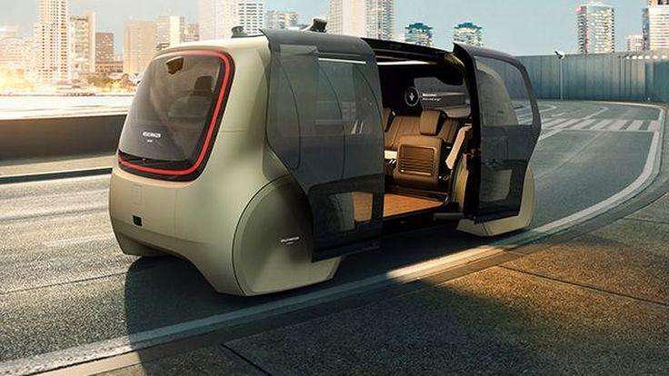[Geneva 2017] Volkswagen เผยโฉม Sedric Concept รถขับขี่อัตโนมัติแห่งอนาคต