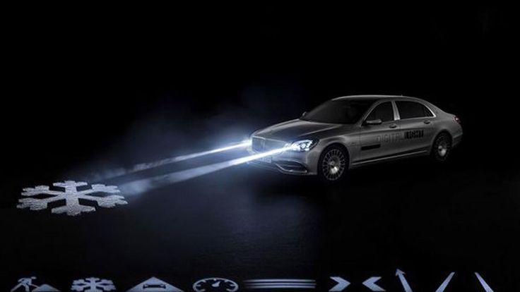 Geneva 2018: Mercedes-Maybach เปิดตัวไฟหน้าสุดล้ำ Digital Light นวัตกรรมใหม่