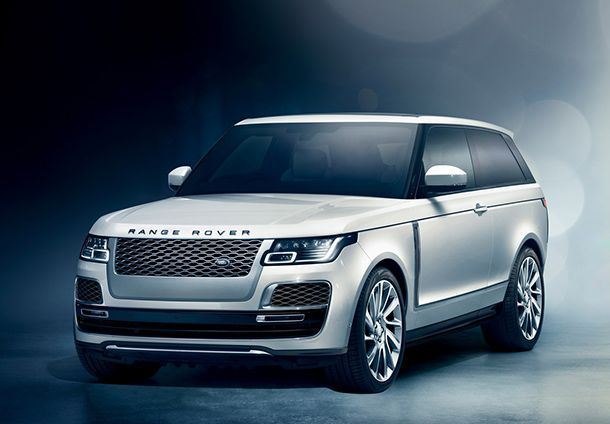 Geneva 2018: เปิดตัวครั้งแรกในโลก Range Rover SV Coupe รถเอสยูวีคูเป้ 557 แรงม้า