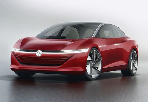 Geneva 2018: เผยโฉม Volkswagen I.D. Vizzion ว่าที่รถซีดานแห่งอนาคต