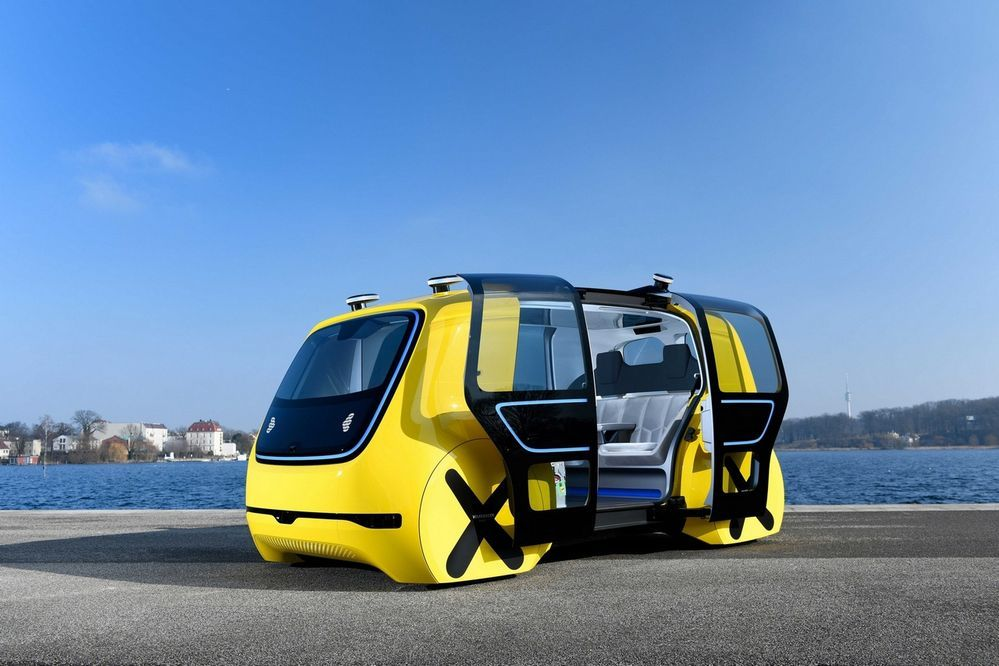 Geneva 2018 : รถโรงเรียนไร้คนขับกับ Volkswagen SEDRIC