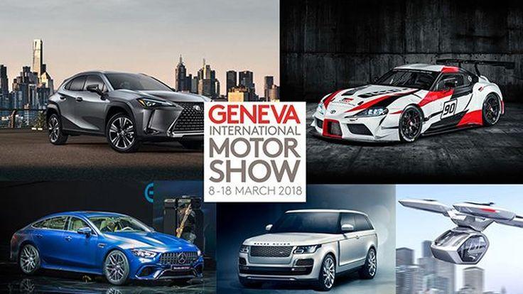 คัดมาให้ชม! 12 รถต้นแบบและรถใหม่ไฮไลท์จากงาน 2018 เจนีวา มอเตอร์โชว์