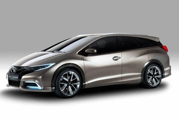 หล่อเตะตา Honda Civic Wagon Concept รถต้นแบบออกอวดโฉมที่เจนีวา
