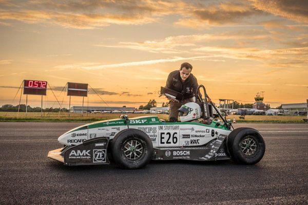 นักศึกษาเยอรมันพัฒนารถสร้างสถิติ 0-100 กม./ชม. ใน 1.779 วินาที (ชมคลิป)