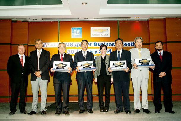 GM ยกย่องผู้ผลิตชิ้นส่วนยอดเยี่ยมในเอเชียตะวันออกเฉียงใต้
