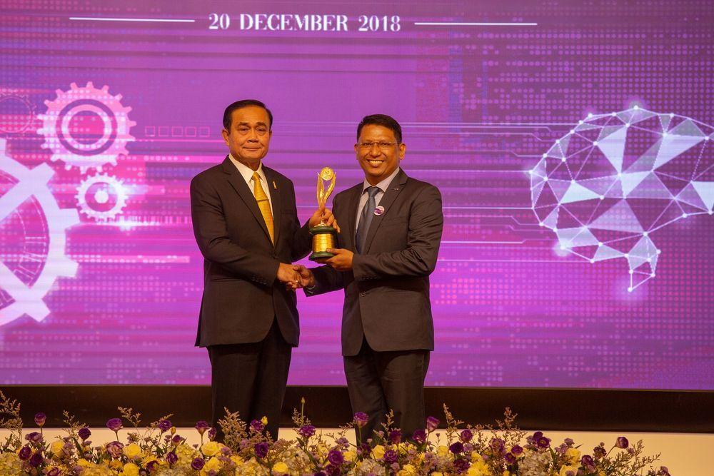 [PR News]จีเอ็ม ประเทศไทยรับรางวัลอุตสาหกรรมดีเด่น ประเภทการรักษาคุณภาพสิ่งแวดล้อม ประจำปี 2561