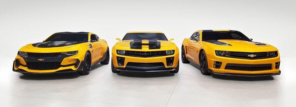 ลาก่อน Bumblebee เมื่อ GM เปิดประมูล Chevrolet Camaro ทั้ง 4 คัน จากแฟรนไชส์ Transformers