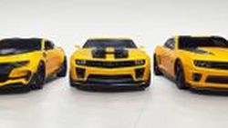 ลาก่อน Bumblebee เมื่อ GM เปิดประมูล Chevrolet Camaro ทั้ง 4 คัน จากแฟรนไชส์ Transformers