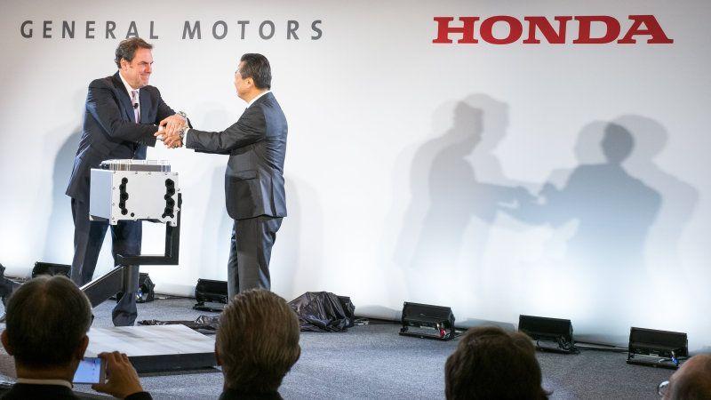 GM – Honda บรรลุข้อตกลงพัฒนาและผลิตไฮโดรเจนฟิวเซลร่วมกัน